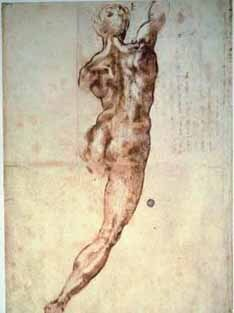 """Nudo di Schiena"", de 1504/1505, deixa a Itália pela primeira vez"