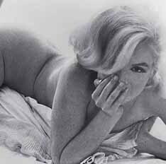 Foto integrante da exposição de Marilyn