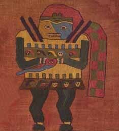 Tecido usado em ritual Inca