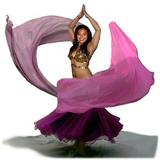 Roupa típica da dança do ventre