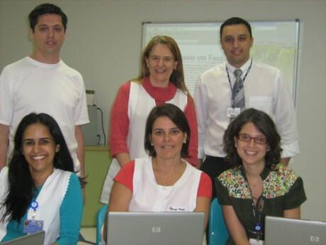 Os professores envolvidos da área de tecnologia, da oficina de cinema e da oficina de jornalismo