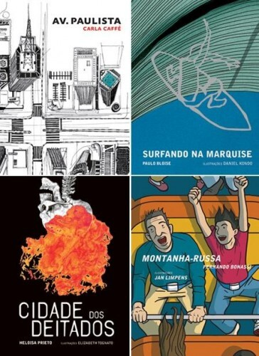 Volumes da coleção Ópera Urbana