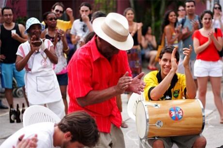 Roda de samba do Kolombolo