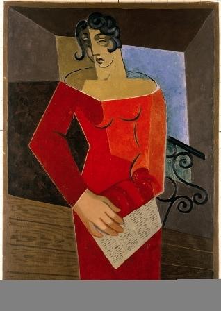Juan Gris, Le Chanteuse, 1926
