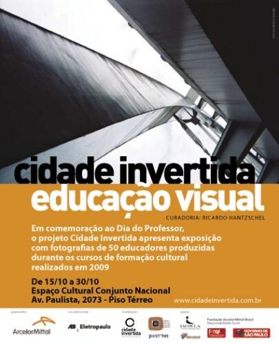 Flyer da exposição