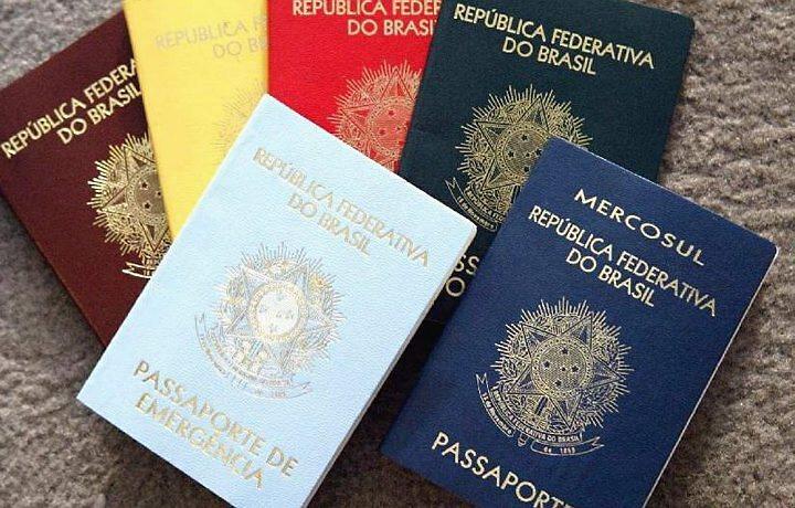 Infográfico mostra passo a passo para tirar ou renovar passaporte