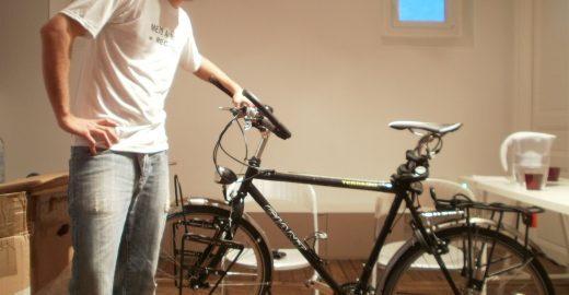 Estudante de RI quer cruzar a Europa de Bike