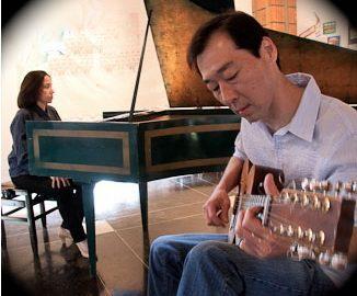 Bach, Villa-Lobos e Gismonti em viola caipira e cravo