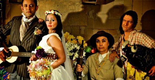 """O Casamento Suspeitoso"" no Teatro do Sesi"