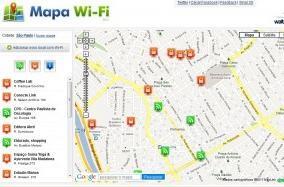 Mapa virtual identifica pontos gratuitos de acesso à internet na Vila