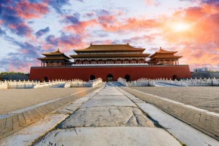 Antigos palácios em Pequim, na China