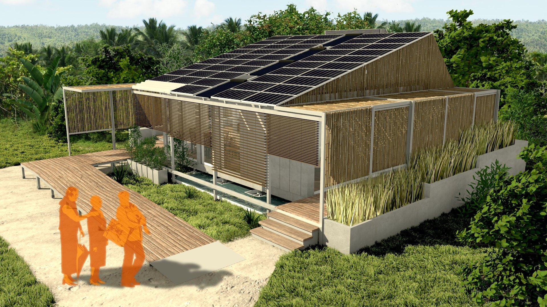 Alunos da usp desenvolvem casa eco friendly for Piani casa eco friendly