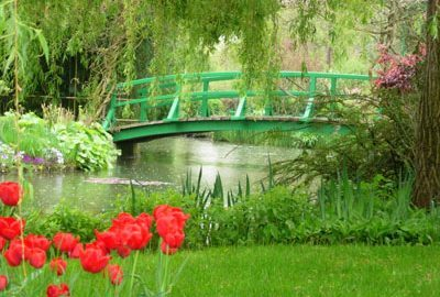 Passeie pelos jardins de Monet