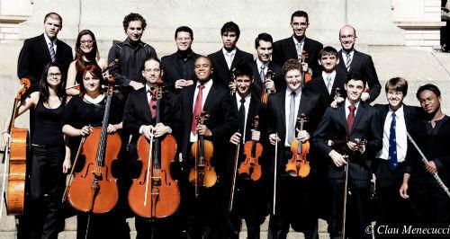 Orquestra de Repertório Manfredo de Vincenzo em concerto no CEU Butantã