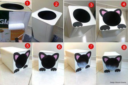 casa-gato-material reciclado-divulgação