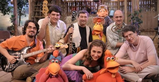 Hélio Ziskind e Turma do Cocoricó fazem shows gratuitos