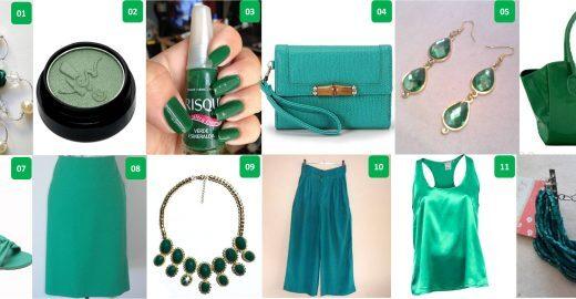 2013 é o ano do verde esmeralda
