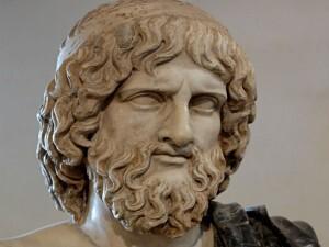 Na mitologia Grega, Hades é o rei do mundo dos mortos