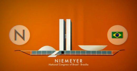 """Vídeo """"ABC dos Arquitetos"""" organiza um abecedário da arquitetura mundial"""