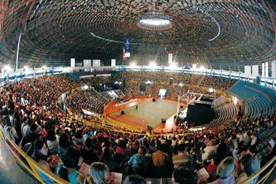 Andando por SP #21 – Ginásio Ibirapuera e Brasil Open 2013