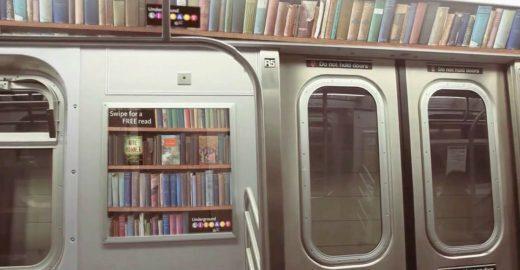 Acesso a livros de bibliotecas públicas poderá ser feito pelo metrô em NY