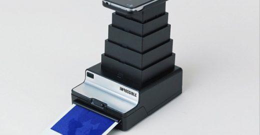 """Dispositivo permite impressão de """"Polaroids"""" direto do iPhone"""