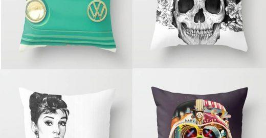 Almofadas descoladas para decorar a casa