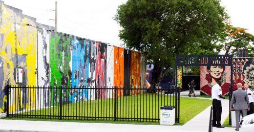 Bairro degradado de Miami vira galeria de arte urbana a céu aberto