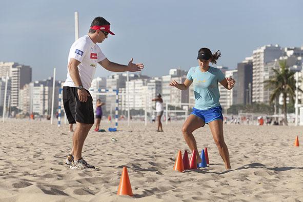 Circuito Na Academia : Academia de graça nas praias