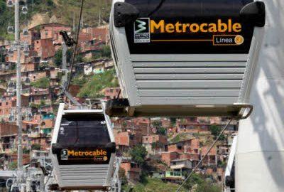Teleféricos surgem como opção de transporte em cidades densas e populosas