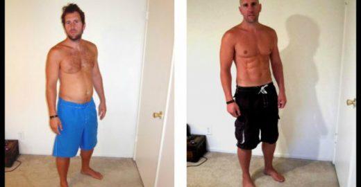 Personal trainer 'desmascara' fotos de transformação física