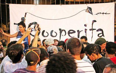 O sarau da Cooperifa acontece no Bar do Zé Batidão