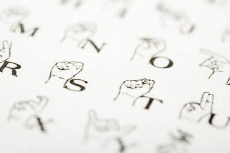 Apostila de Libras (Linguagem brasileira de sinais)