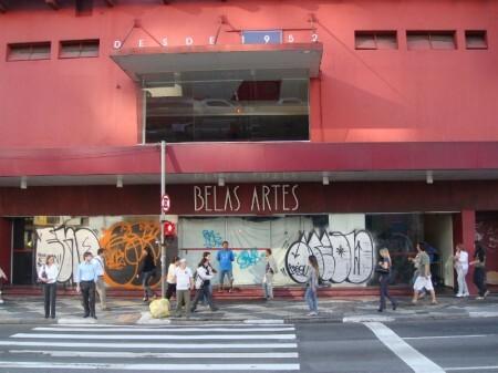 Cine Belas Artes / reprodução