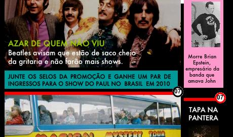 E se a história dos Beatles tivesse sido contada pelo jornal Meia Hora?