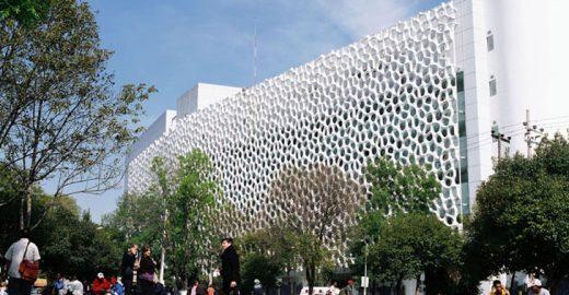 Fachada de hospital filtra poluentes do ar e reduz energia