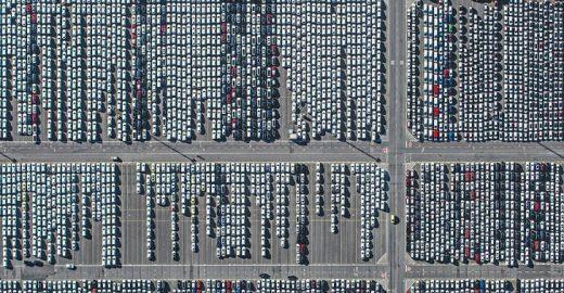 Fotógrafo faz fotos aéreas para mostrar impacto do ser humano no planeta