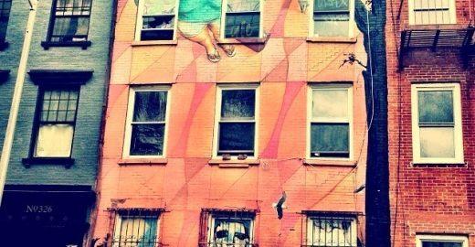 Prestes a ser demolido, prédio em NY ganha mostra ilegal de arte