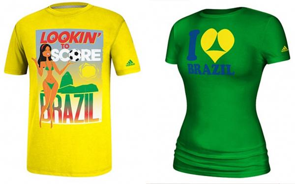 2fd8bd153c Patrocinador da Copa do Mundo faz camiseta com duplo sentido e causa  polêmica