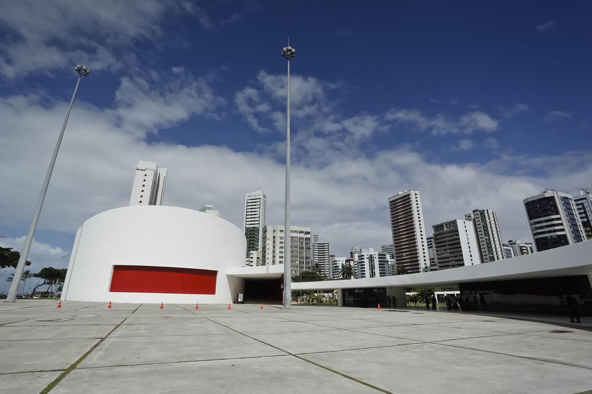 Teatro Luiz Mendonça - por Andréa Rêgo Barros