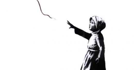 Banksy atualiza graffiti em homenagem ao povo sírio