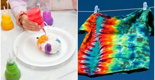 Aprenda como fazer camiseta tie dye com 8 estampas diferentes