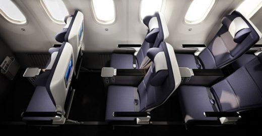 """Companhias aéreas criam classe econômica """"premium"""""""
