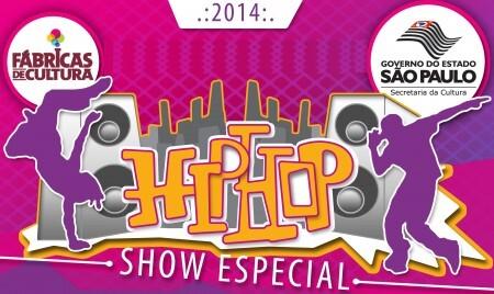 Os                Rappers Terra Preta, Doctor's MC's, Monarckas, SubZero,                Viegas, Ras MC, Cojaque na Cena e grupo Família Justa                Causa se apresentam em todas as Fábricas de Cultura da                Zona Leste.