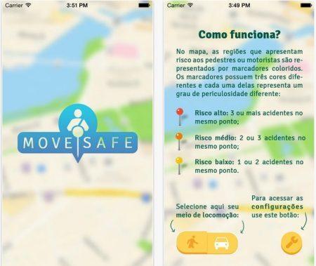 """""""Move Safe"""" - reprodução"""