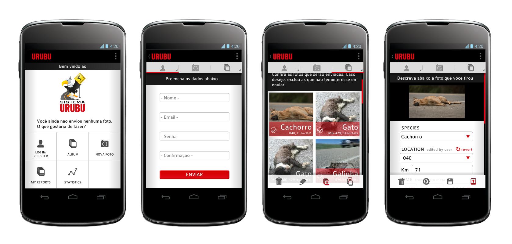 aplicativo ajuda a mapear atropelamento de animais em estradas. Black Bedroom Furniture Sets. Home Design Ideas