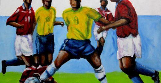 Bangalafumenga celebra a seleção canarinho com samba e futebol