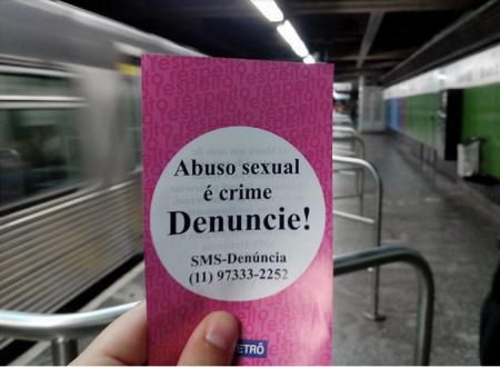 Rede Minha Sampa mobilizou campanha no metrô