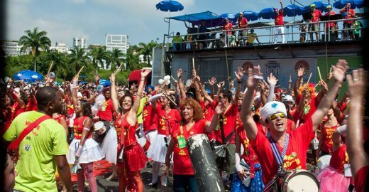 Bangalafumenga se apresenta na Arena Brahma durante a Copa