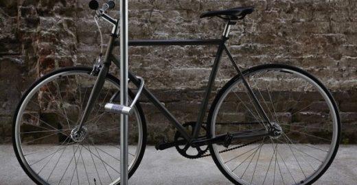 Cadeado ativa serviço de emergência quando ciclista sofre acidente